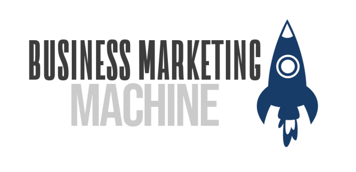 Business Marketing Machine Logo